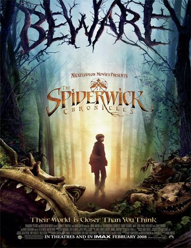 Poster de Las crónicas de Spiderwick