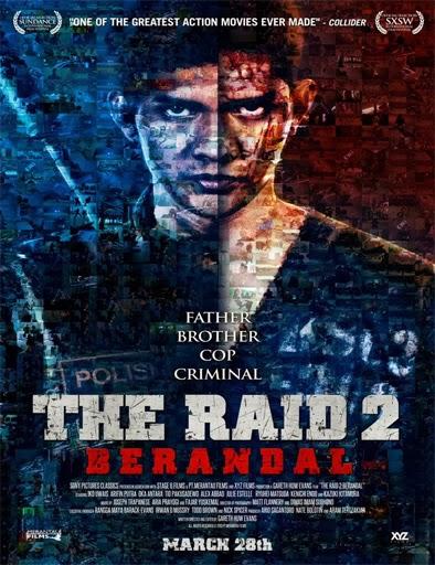Poster de The Raid 2: Berandal (Redada asesina 2)