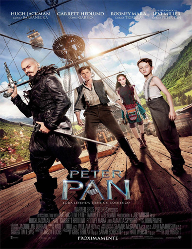 PAN Viaje a Nunca Jamas Pelicula Completa Online HD [MEGA] [ESPAÑOL] 2015