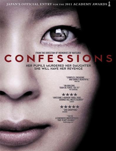 Poster de Kokuhaku (Confessions)