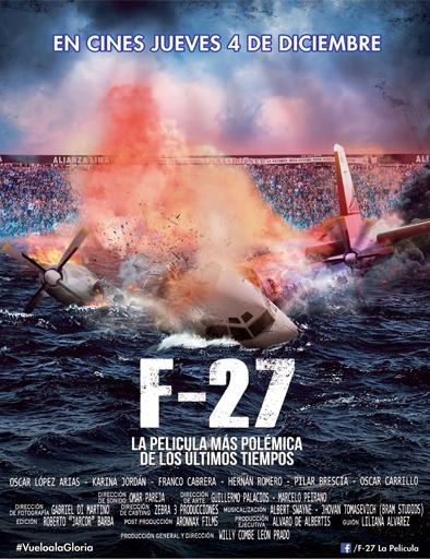 Poster de F-27, la película