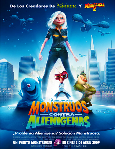 Poster de Monsters vs. Aliens (Monstruos vs. Aliens)