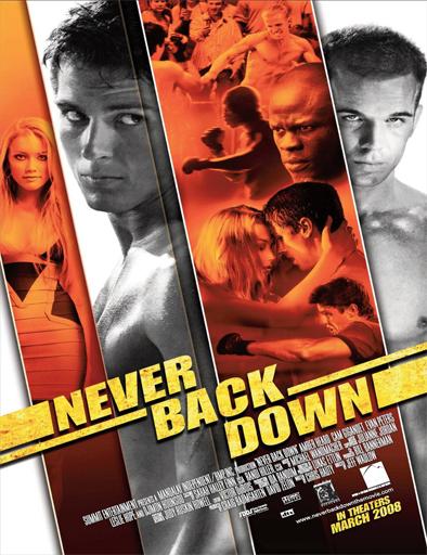 Poster de Never Back Down (Rompiendo las reglas)