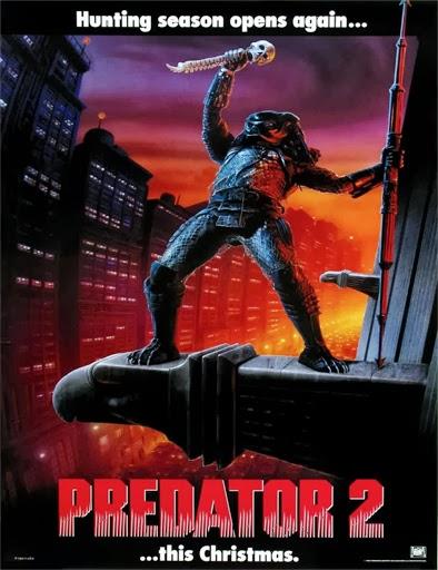 Poster de Predator 2 (Depredador 2)
