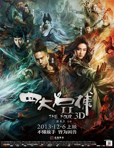 Poster de Si da ming bu 2 (The Four 2)
