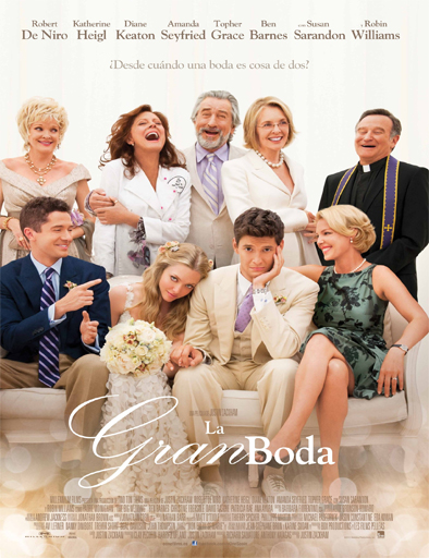 Poster de The Big Wedding (La gran boda)
