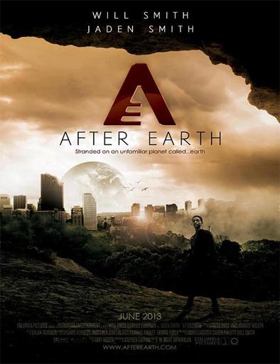Poster de After Earth (Después de la Tierra)