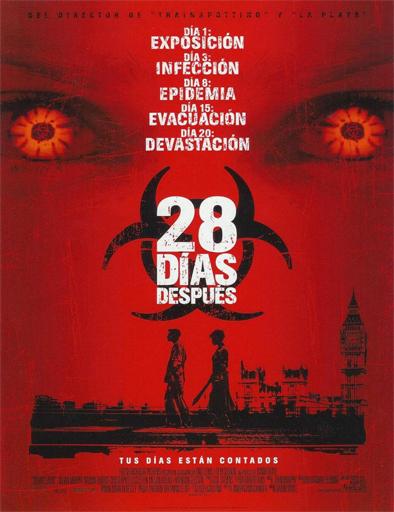 Poster de 28 Days Later... (28 días después)