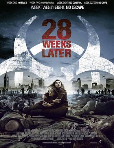 Poster de 28 Weeks Later (28 semanas después)