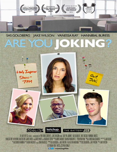 Are You Joking? [Estas Bromeando?] [DVDRip] [Sub Español] [1 Link] [MEGA]