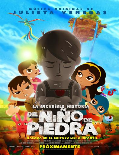 Poster de La increíble historia del Niño de Piedra