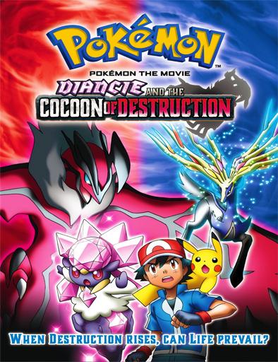 Poster de Pokemon 17: Diancie y la crisálida de la destrucción