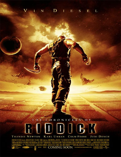 Poster de The Chronicles of Riddick (Las crónicas de Riddick)