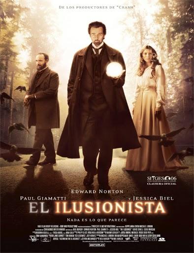 Poster de The Illusionist (El ilusionista)