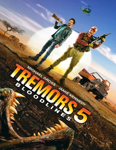 Poster de Temblores 5: El legado