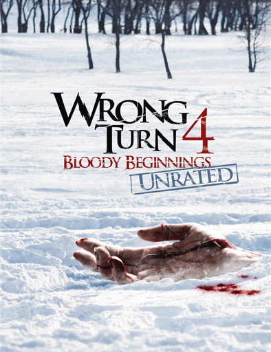 Poster de Wrong Turn 4 (Camino hacia el terror 4)