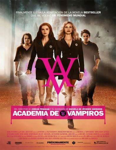 Poster de Vampire Academy (Academia de Vampiros)