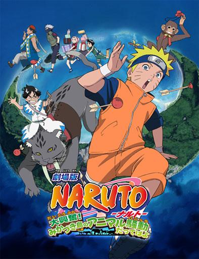 Naruto 3: Revelión animal en la isla de la Luna (2006) | 3gp/Mp4/DVDRip Sub HD Mega