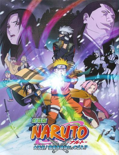 Naruto 1: El rescate de la Princesa de la Nieve (2004) | 3gp/Mp4/DVDRip Sub HD Mega