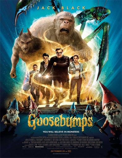 Goosebumps Escalofríos Pelicula Completa Online DVD-R HD [MEGA] [ESPAÑOL]  2015