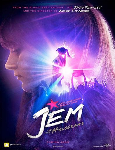 Poster de Jem and the Holograms (Jem y los hologramas)