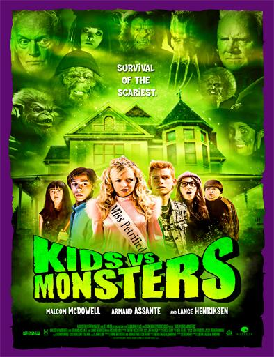 Poster de Kids vs Monsters