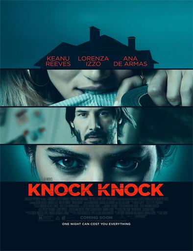Poster de Knock Knock (El lado oscuro del deseo)