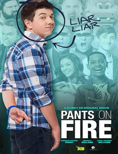 Poster de Pants on Fire (Mentiras verdaderas)