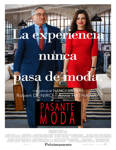 Poster de The Intern (Pasante de moda)