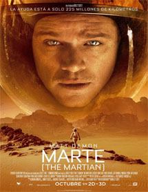 Poster mediano de The martian (Marte: Operación rescate)