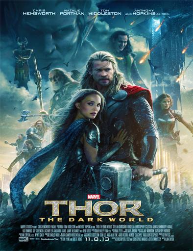 Poster de Thor: The Dark World (Thor: El mundo oscuro)