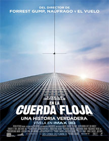 Poster mediano de The Walk (En la cuerda floja)