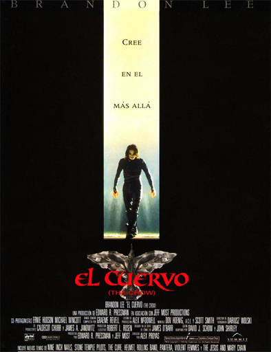 Poster de The Crow (El cuervo)