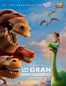 Poster mediano de The Good Dinosaur (El viaje de Arlo)