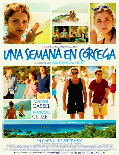 Poster de Una semana en Córcega