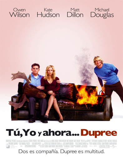 Poster de You, Me and Dupree (Tres son multitud)