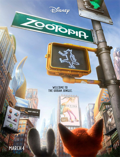 Zootopia (Zootrópolis) (2016) [TS-Screener] [Latino] [1 Link] [MEGA]