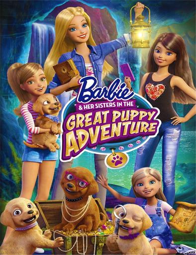 Poster de Barbie y sus hermanas en una aventura de perritos