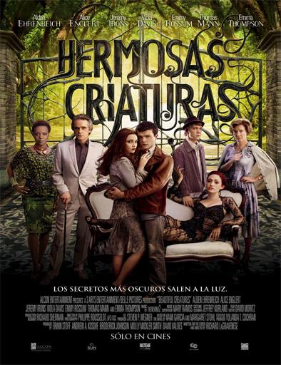 Poster de Beautiful Creatures (Hermosas criaturas)