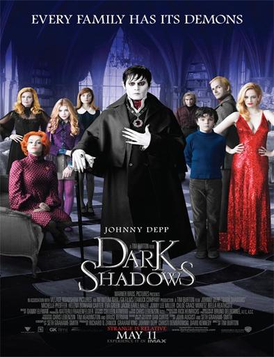 Poster de Dark Shadows (Sombras tenebrosas)