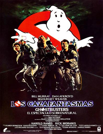 Poster de Ghostbusters (Los cazafantasmas)