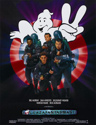 Poster de Ghostbusters 2 (Los cazafantasmas 2)