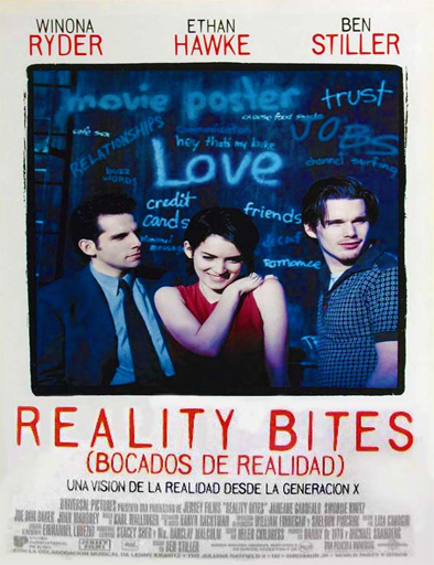 Poster de Reality Bites (La dura realidad)