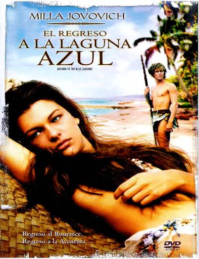Poster de Return to the Blue Lagoon (El regreso a la laguna azul)