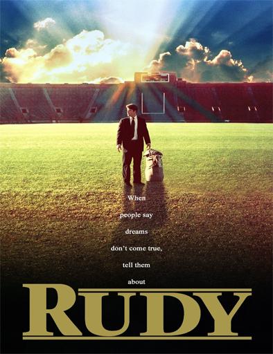 Poster de Rudy, reto a la gloria