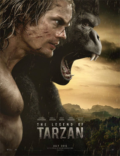 Ver The Legend of Tarzan (La leyenda de Tarzán) (2016) online