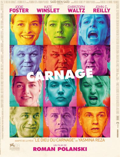 Poster de Carnage (¿Sabes quién viene?)