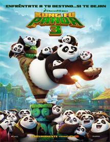 Poster mediano de Kung Fu Panda 3