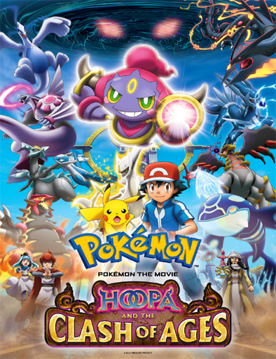 Pokémon The Movie 18: Hoopa And The Clash Of Ages (2015)