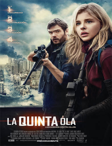 The 5th Wave (La quinta ola) (2016) [CAM] [Castellano] [1 Link] [MEGA]